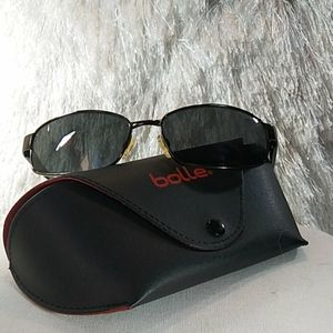 Bolle Unisex Sunglasses and Case